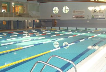 Sports and swimming centre with Spa